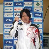 Young gun: Natsumi Hoshi, the youngest member of the Japan Olympic swimming team at 17, hopes to contend for a medal in the 200-meter butterfly. | KAZ NAGATSUKA