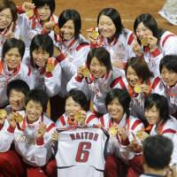 Japan outplays U.S. to win softball gold