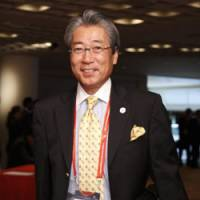 Point man: Tsunekazu Takeda, president of the Japan Olympic Committee, traveled to Singapore for the Olympic Council of Asia general assembly on Thursday. | AP PHOTO