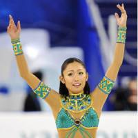 Undecided: Miki Ando hasn't ruled out the possibility of competing in the Winter Olympics for a third time, meaning she could return to the spotlight in 2014 in Sochi, Russia. | KYODO PHOTO
