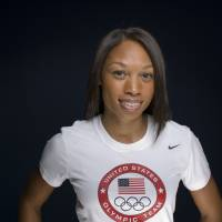 Double duty: American sprinter Allyson Felix will enter both the 100 and 200 meters at the upcoming U.S. Olympic Trials in Eugene, Oregon. | AP