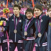 Japan takes silver medal again as China wins men's gymnastics team gold