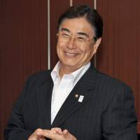 Wild card: Tokyo 2020 Olympic Games bid CEO Masato Mizuno has been confronted with an unexpected issue in the campaign against Istanbul and Madrid, as fallout from Japan's multiple island disputes could factor in the final IOC vote. | YOSHIAKI MIURA