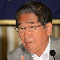 Controversial figure: Tokyo Gov. Shintaro Ishihara's stance on the Senkaku Islands could end up affecting the capital's chances of landing the 2020 Olympic Games. | AFP-JIJI