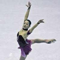 Mao Asada, the two-time defending national champion, is the favorite to win the world title in Sweden this week. | AP PHOTO