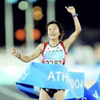 Noguchi should carry flag for Japan at Beijing Games
