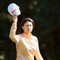 Spirits with Koga as she claimed JLPGA money title