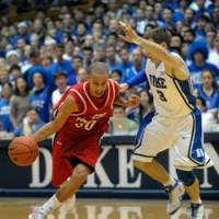 Chip off the old block: Davidson guard Stephen Curry has put up impressive numbers during his collegiate career. | AP PHOTOS