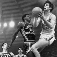 Legendary scorer: Pete Maravich averaged an astonishing 44.2 points per game during this three-year career at Louisiana State University from 1967-70.