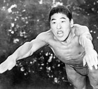 Iconic individual: Swimmer Hironoshin Furuhashi, a freestyle specialist, established numerous world records in the late 1940s and early '50s, giving Japan a positive role model in the devastating aftermath of World War II. | KYODO PHOTO