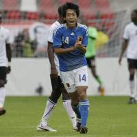 A star is born: Kengo Nakamura was Japan's top player during the national team's two recent matches in the Netherlands. | AP PHOTO