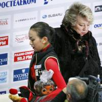 Not connecting: The partnership of Russian coach Tatiana Tarasova and Mao Asada has produced mixed results for Japan's top-ranked female skater. | KYODO PHOTO