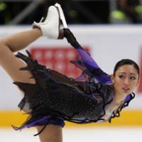 In form: Miki Ando, who won her first Grand Prix title in three yearsat the Rostelecom Cup in Moscow last month, is the favorite at this week's NHK Trophy in Nagano. | AP PHOTO
