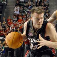 Championship experience: Point guard Matt Lottich, Oita's latest acquisition, won three titles while playing for the Osaka Evessa from 2005-08. | YOSHIAKI MIURA PHOTO