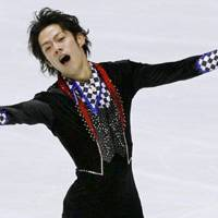 Oh, Canada!: Daisuke Takahashi fulfills his goal of qualifying for the Vancouver Olympics, winning the men's title in the Japan Figure Skating National Championships on Saturday with 261.13 points. | KYODO PHOTO