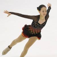 Revered: Two-time world champion Mao Asada finished first in a recent survey of popularity, recognition and image of Japanese celebrities. | KYODO PHOTO