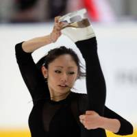 Solid bet: Miki Ando, the 2007 world champion, is the favorite in a strong field at this week's world championships in Moscow after several victories this season. | AP