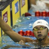 Kitajima advances to 100-meter world breaststroke final