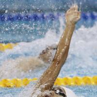 Irie nabs bronze in 100 back