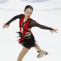 Long drought: Mao Asada enters this week's NHK Trophy looking for her first victory since winning the 2010 world title. | AP