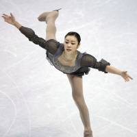 Poetry in motion: Kim Yu Na's performance at last week's worlds illustrated just how far she is ahead of her rivals with less than a year to go before the Sochi Games. | AP
