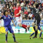 Japan finds positives in loss