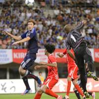Havenaar lifts Japan to win over UAE