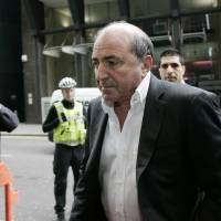 Cause of his troubles?: Boris Berezovsky arrives at the Royal Courts of Justice in London for his hearing against fellow Russian tycoon Roman Abramovich in April 2008. | AP