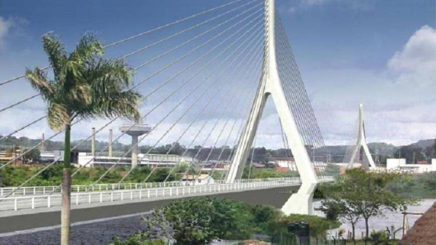 A Japan-Uganda project to build a new bridge across the Nile.