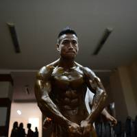 Myanmar bodybuilders target medals at Southeast Asia Games