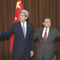 Seeking calm in Koreas, Kerry looks to China