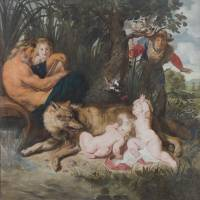 Horn of Plenty: Peter Paul Rubens 'The Finding of Romulus and Remus' (ca. 1612- 1613). | ROME, PINACOTECA CAPITOLINA