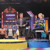 Game on: Yoshimoto Kogyo and its Hollywood partner Creative Artists Agency are developing game show formats similar to 'Spinsanity' (pictured) for the international market. | NTV AND LIGHTHEARTED ENTERTAINMENT