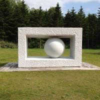 Whole: Yasuda Kan's sculpture at Bibai, Hokkaido, enhances and is enhanced by nature. | MARK BRAZIL