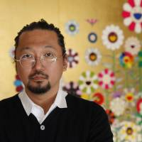 Our gang: Takashi Murakami directs a cast of children in his first film effort, 'Mememe no Kurage (Jellyfish Eyes).' | KOICHIRO MATSUI