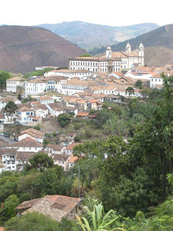 Time capsule: Now a fabulous remnant of colonial grandeur, and a UNESCO World Heritage Site, Ouro Preto was one of the New World's largest cities in its 1750s gold-rush heyday.
