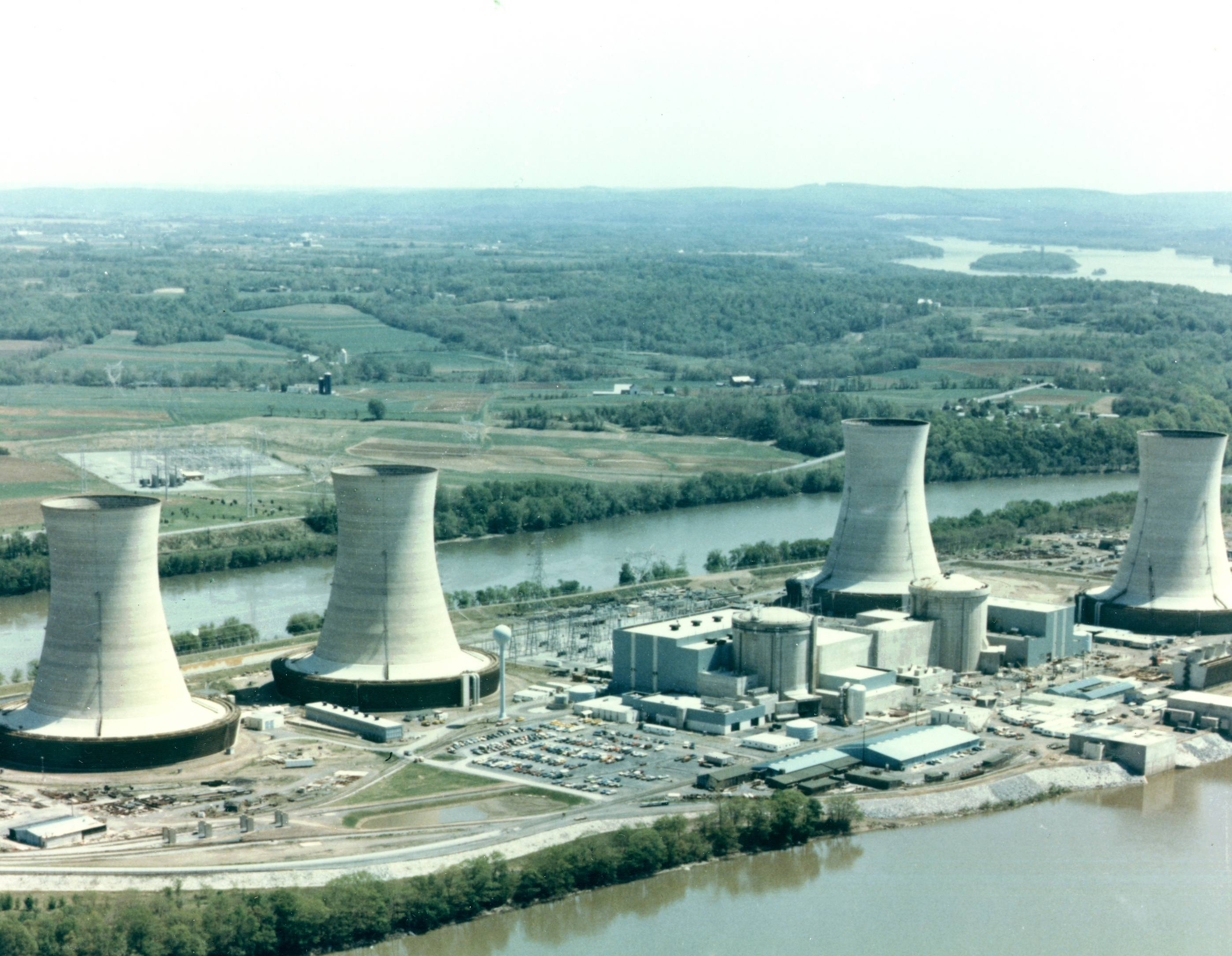 Close call: Three Mile Island Nuclear Generating Station near Harrisburg, Pennsylvania, where a cooling system failure led to the partial meltdown of a reactor in 1979. | NRC PHOTOS
