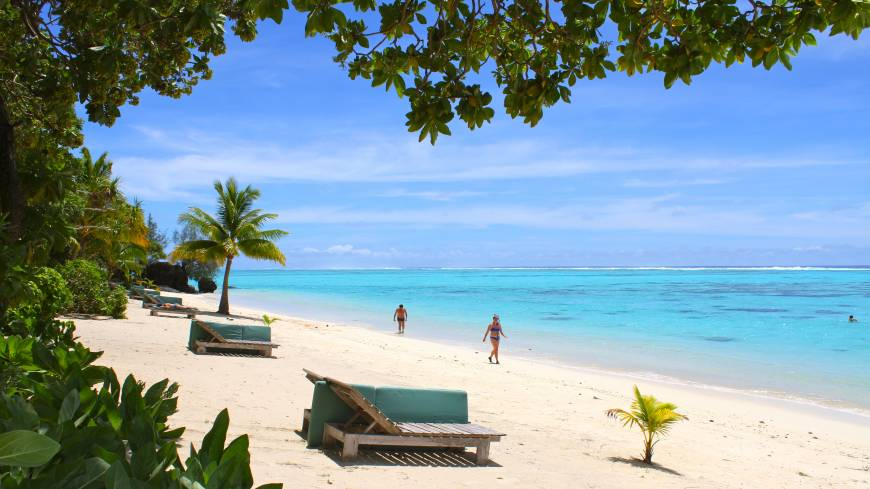 The atoll-sited Pacific Resort Aitutaki is one of the Cook Islands' many holiday idylls.