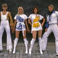 Take a chance on me: The Swedish group ABBA — (L to R) Bjorn Ulvaeus, Agnetha Faltskog, Frida Lyngstad and Benny Andersson — in their stage clothes in 1975. The world's first permanent ABBA museum will open in central Stockholm on May 7. | BLOOMBERG