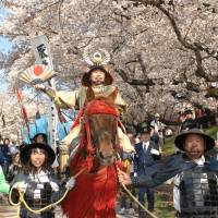 Ieyasu rides again in parade