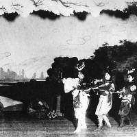 Old-time show: 'Donburako,' the first-ever Takarazuka play in 1914. | KANSHI H. SATO