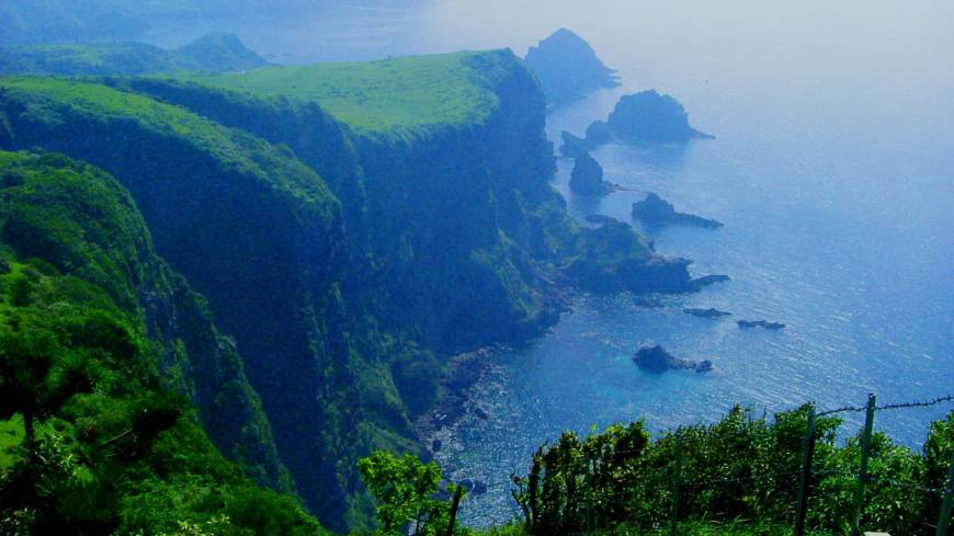 Worlds apart: The Oki Islands in the Sea of Japan seem remarkably unchanged by the tides of history that have for millennia washed over them. Some sights on Nishinoshima Island include its Kuniga coastline.
