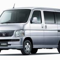 Safety recall: Honda Motor Co.'s Vamos minivan has been subject to a recall. | COURTESY OF THE TRANSPORT MINISTRY/KYODO
