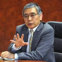 Kuroda defends his major policy shakeup