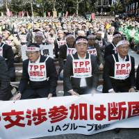 TPP deal irks farmers, automakers