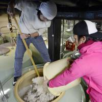 Brewers set out to take sake global