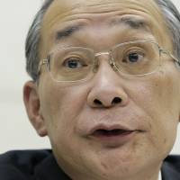 Tepco chief Shimokobe asked to delay his exit