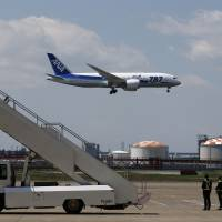Dreamliner conducts first Japan flight since grounding over batteries