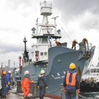 Whalers return with smallest haul