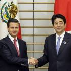 Mexican President Pena Nieto backs Japan's TPP bid